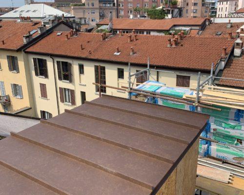 Copertura tetti in metallo ROTA Lattoneria 6