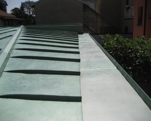 Copertura tetti in metallo ROTA Lattoneria 4