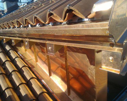 Copertura tetti in metallo ROTA Lattoneria 9