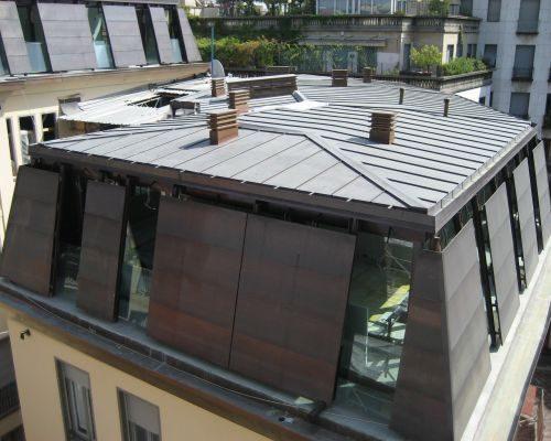 Copertura tetti in metallo ROTA Lattoneria 2